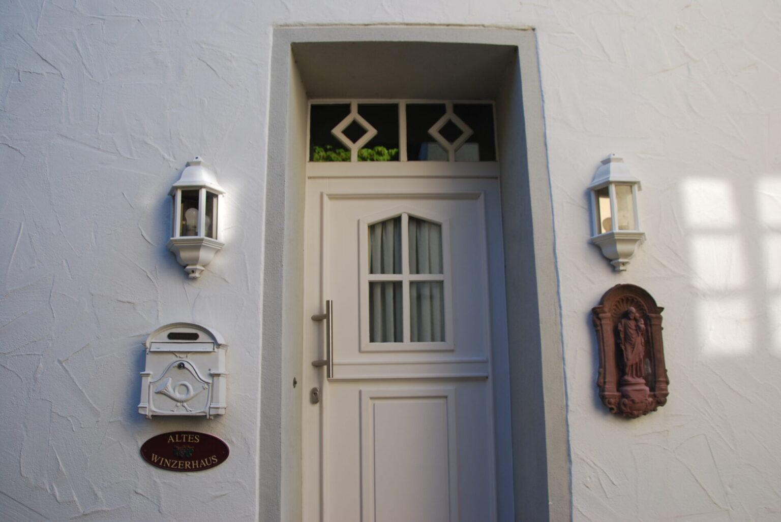 Ferienhaus Altes Winzerhaus Eingang